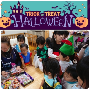 英語timeからの~Trick or Treat☆