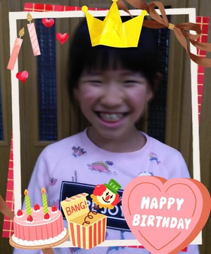 ☆Happy Birthday to you☆